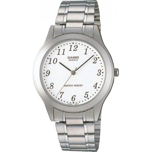CASIO Herren Armbanduhr Analog Quarz Edelstahl MTP 1128A 7B