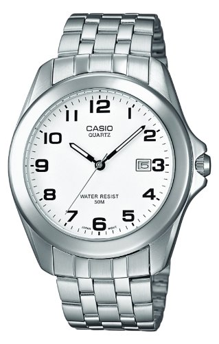 Casio Herren Armbanduhr Analog Quarz Edelstahl MTP 1222A 7BVEF