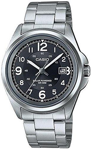 CASIO Analog Quarz Edelstahl MTP S101D 1B
