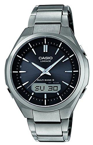Casio Herren Armbanduhr Wave Ceptor Analog Digital Quarz Titan LCW M500TD 1AER