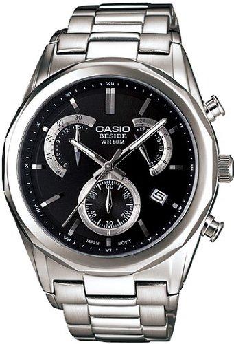 Casio Classic collection Chronograph Quarz Edelstahl BEM 509D 1AVEF