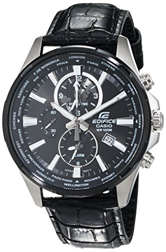 Casio Edifice Analog Quarz Leder EFR 304BL 1AVUEF
