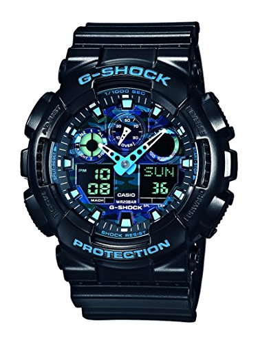 Casio G Shock Analog Digital Quarz Resin GA 100CB 1AER