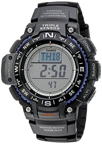 Casio Herren sgw 1000 1 ACR Triple Sensor Digital Display Quartz Black Watch