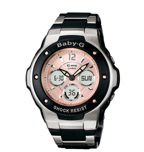 Casio MSG300C 1B Baby G Watch