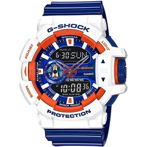 Casio Netz Me Up G SHOCK Quarz Batterie JAPAN Reloj Modelo de Asia GA 400CS 7A