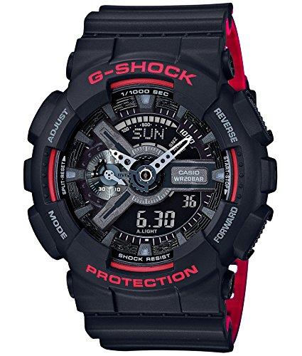 Casio Shock Black Red Series ga 110hr 1ajf Mens