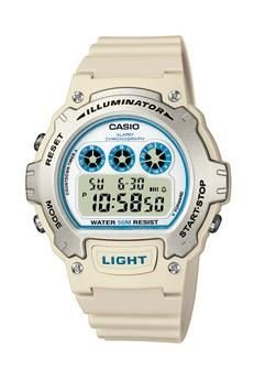 Casio W 214H 8AVES LED Light