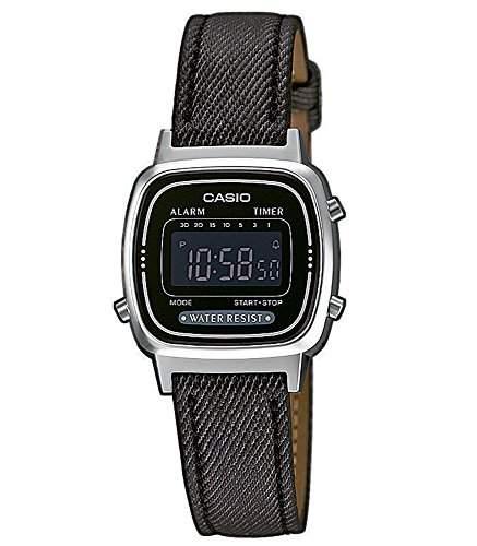 Casio Collection Retro Design Digitale Damenuhr Armbanduhr LA670WEL-1BEF