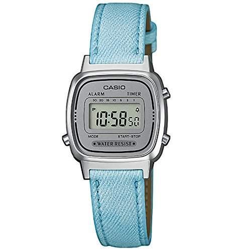 Casio Collection Retro Design Digitale Damenuhr Armbanduhr LA670WEL-2AEF