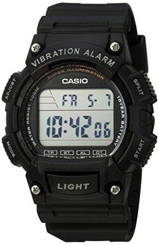 Reloj Casio Unisex con Vibration Alarm W 736H 1AVCF