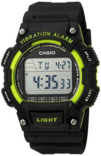 Reloj Casio Unisex con Vibration Alarm W 736H 3AVCF