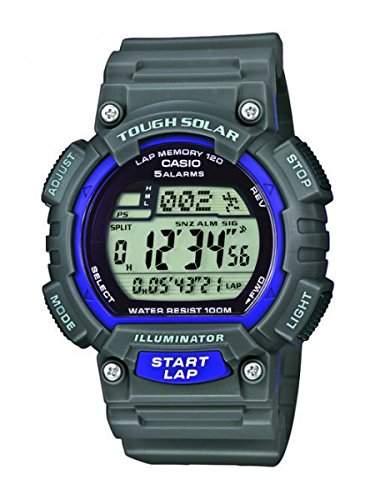 Casio Collection Herren-Armbanduhr XL Collection Digital Quarz Resin STL-S100H-8AVEF