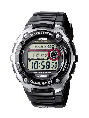 Casio Funkuhren Herren-Armbanduhr Digital Quarz WV-200E-1AVEF