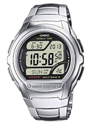 Casio Funkuhren Herren-Armbanduhr Digital Quarz WV-58DE-1AVEF