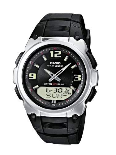 Casio Funkuhren Herren-Armbanduhr Analog  Digital Quarz WVA-109HE-1BVER