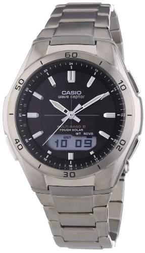 Casio Unisex Armbanduhr Analog - Digital Quarz Edelstahl Wva-M640Td-1Aer