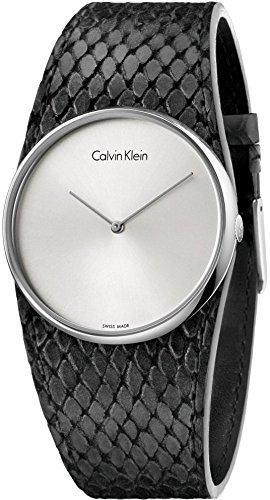 Calvin Klein Analog Quarz Leder K5V231C6