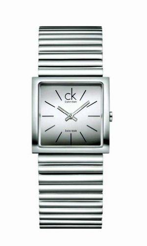 Calvin Klein Damen Armbanduhr Analog Quarz Edelstahl K5623116