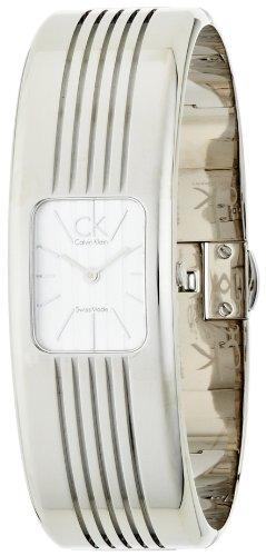 Calvin Klein Damen Armbanduhr Analog Quarz Edelstahl K8122120