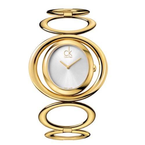 Calvin Klein XS Graceful Analog Edelstahl K1P23520 PVD gold