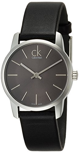Calvin Klein XL City Lady Analog Leder K2G23107