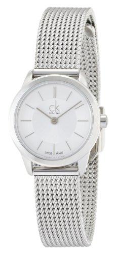 Calvin Klein XS ck minimal Analog Edelstahl K3M23126