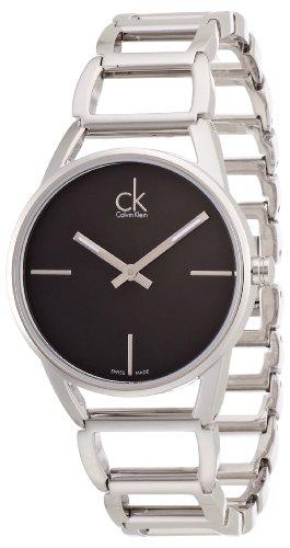 Calvin Klein XS ck stately Analog Quarz Edelstahl K3G23121