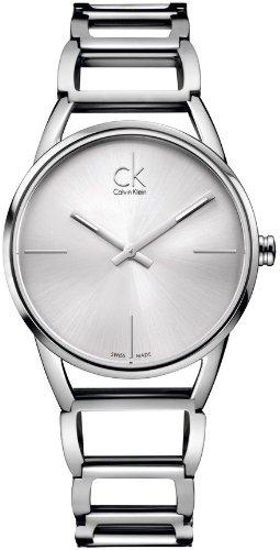 Calvin Klein XS ck stately Analog Quarz Edelstahl K3G23126