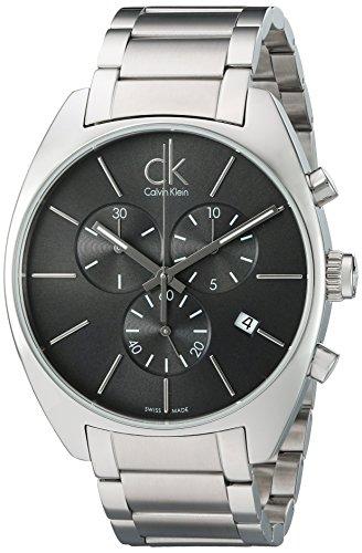 Calvin Klein Herren Armbanduhr Analog Quarz Edelstahl K2F27161
