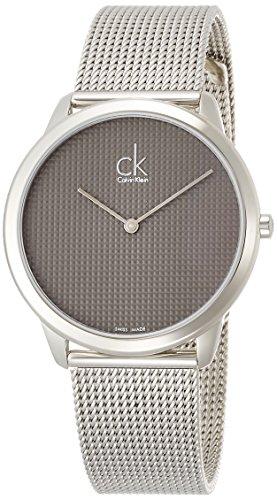 Calvin Klein Minimal Edelstahl silber K3M2112X