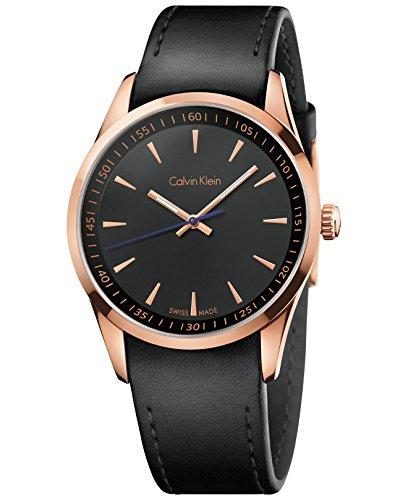 Calvin Klein K5 A316 C1 Armbanduhr Bold Herren Schwarz Zifferblatt Quarz Uhrwerk