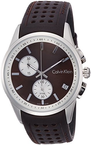 Calvin Klein Bold K5A371GK Herrenchronograph Swiss Made