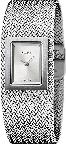Calvin Klein Mesh K5L13136 Damenarmbanduhr Design Highlight