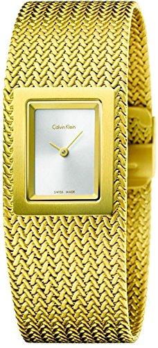 Calvin Klein Mesh K5L13536 Damenarmbanduhr Design Highlight