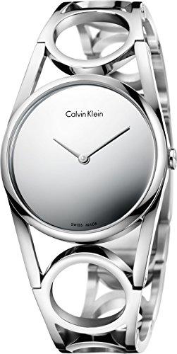 Calvin Klein round K5U2M148 Damenarmbanduhr Schmuckband
