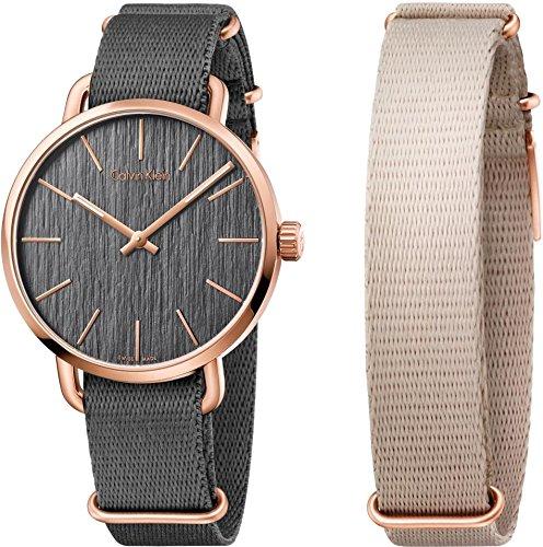 Calvin Klein EVEN K7B216P3 Unisexuhr Armband auswechselbar