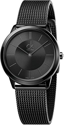 Calvin Klein Minimal K3M224B1 Damenarmbanduhr Swiss Made