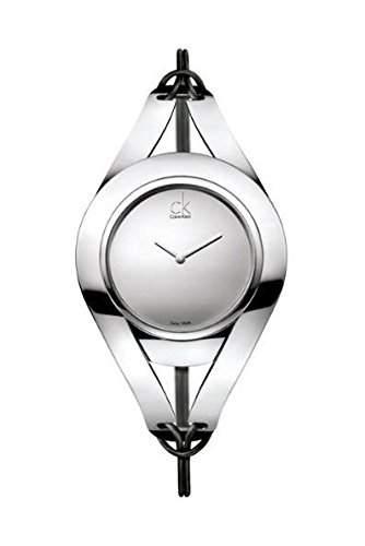 Calvin Klein Damen-Armbanduhr Sophistication Analog Leder K1B33108