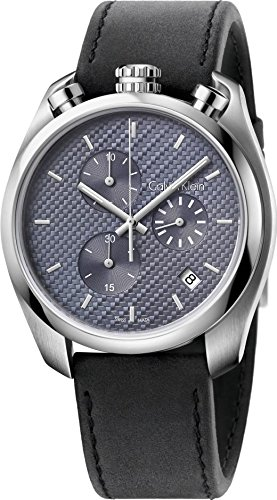 Calvin Klein Substantial K6Z371C4 Herrenchronograph Swiss Made