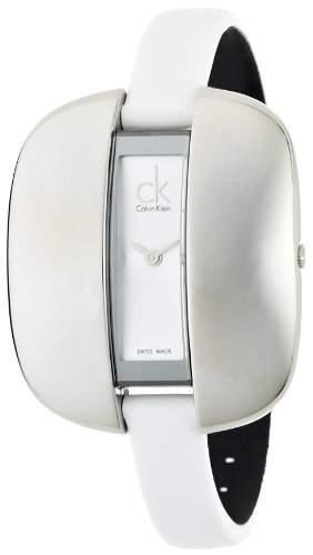Calvin Klein Damen-Armbanduhr Treasure Analog Leder K2E23126