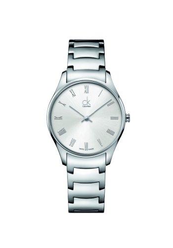 Calvin Klein Unisex Armbanduhr Analog Quarz Edelstahl K4D2214Z
