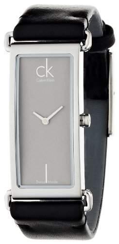 Calvin Klein Damen-Armbanduhr Analog Quarz Leder K0I23107