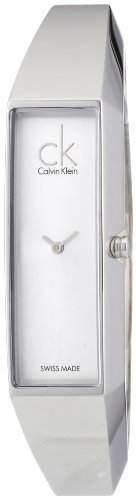 Calvin Klein Damen-Armbanduhr Analog Quarz Edelstahl K1L22120