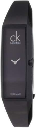 Calvin Klein Damen-Armbanduhr Analog Quarz Edelstahl K1L22402