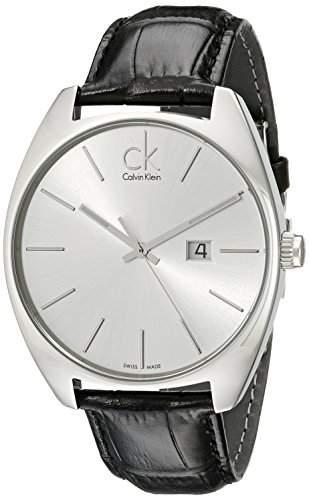 Calvin Klein Herren-Armbanduhr Leder Exchange K2F21120