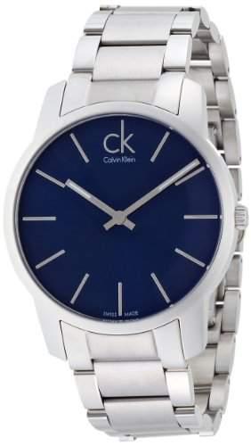Calvin Klein Herren-Armbanduhr Analog Quarz Edelstahl K2G2114N