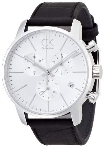 Calvin Klein Herren-Armbanduhr Chronograph Quarz Edelstahl K2G271C6