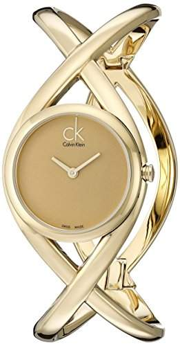 Calvin Klein Damen-Uhr Enlace K2L23509 - Groesse M