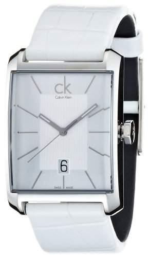 Calvin Klein Herren-Armbanduhr Analog Quarz Leder K2M21120